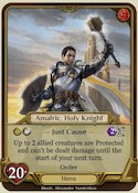 Amalric, Holy Knight