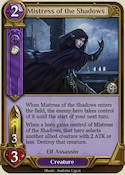 Mistress of the Shadows