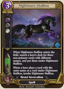 Nightmare Stallion