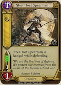 Steel Host Spearman