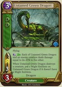 Untamed Green Dragon
